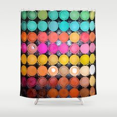 Any Color You Like Shower Curtain