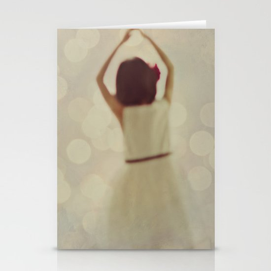 Dreaming of Dancing Stationery Card