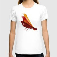 Bad Tweet Womens Fitted Tee White SMALL