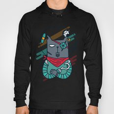 Space Pirate Cat Hoody
