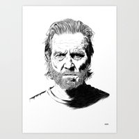Jeff Art Print