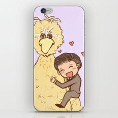 Romney loves Big Bird iPhone & iPod Skin