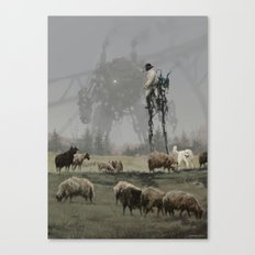 1920 - shepherd Canvas Print