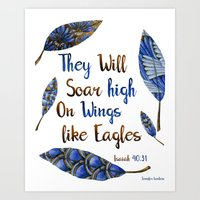 They Will Soar High On W… Art Print