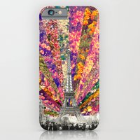 iPhone Cases featuring Vintage Paris by Bianca Green