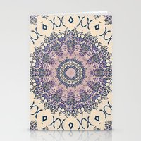 No. 20 Wisteria Arbor Way Regal Purple & Ivory Hugs and Kisses Mandala Stationery Cards