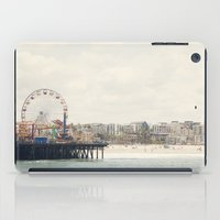 Santa Monica Pier. Happy Birthday Pacific Park!  iPad Case