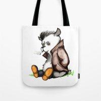 Greaser Rockabilly Panda… Tote Bag