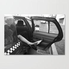 Taxi Cab Confessions Canvas Print