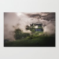 Bucolic Storm Canvas Print