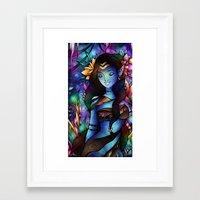 Eywa Ngahu Framed Art Print