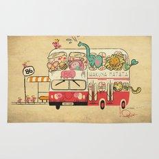 The Childhood Bus Rug