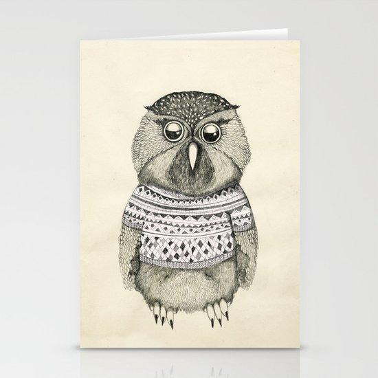 cute owl Stationery Card