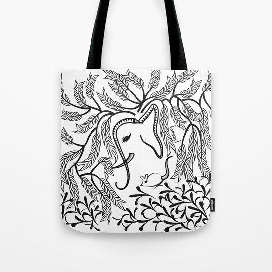 Jungle Ele Tote Bag