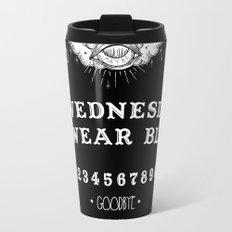 ☽ ON WEDNESDAYS WE WEAR BLACK ☾ Travel Mug