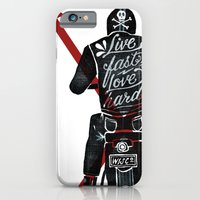 Live Fast, Love Hard iPhone 6 Slim Case