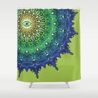 Eye Of The Earth Shower Curtain