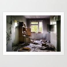 Chernobyl - номер Art Print
