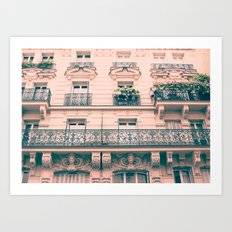 Lovely finds, Paris Art Print