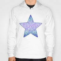 Glitter Graphic Background G105 Hoody
