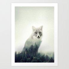 Fox. Into the Wilderness #02 Art Print