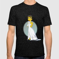Golden Age: Audrey Mens Fitted Tee Tri-Black SMALL
