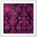 Purple Tapestry Art Print