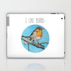 I LIKE BIRDS Laptop & iPad Skin