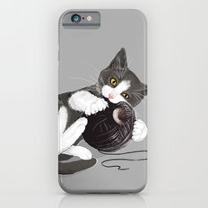 Kitten and Death Star Ball of Yarn Slim Case iPhone 6s
