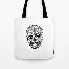 Mexican Skull - White Edition Tote Bag