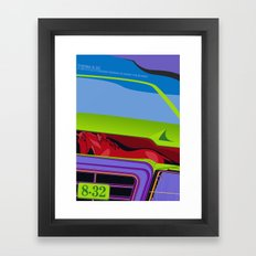 Lancia Thema Framed Art Print