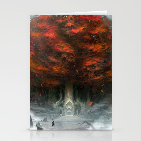 Tree of Duality Stationery Card