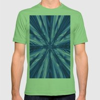 Waterfall Mens Fitted Tee Grass SMALL