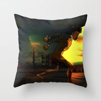 Something About Adwelle Throw Pillow