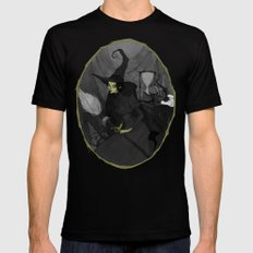 The Wicked Witch of the West Mens Fitted Tee Black SMALL