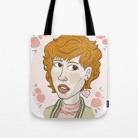 Pretty in Pink Portrait. Tote Bag