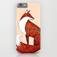 iPhone & iPod Case featuring My neighbour the fox by Littlemess