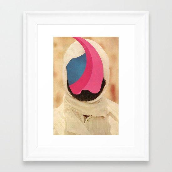 desire lines Framed Art Print