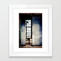 Unlocked Framed Art Print
