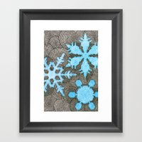Nemo's Holiday Card 2013 Framed Art Print