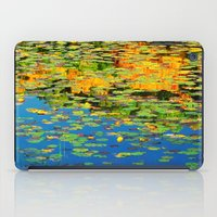 Lilly pond in the style of Monet iPad Case