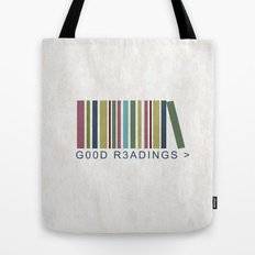 Good Readings are priceless Tote Bag