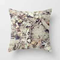 SandShells Throw Pillow
