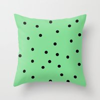 Mint Chip Throw Pillow