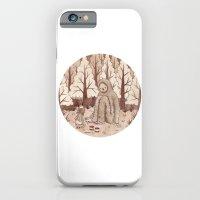 iPhone & iPod Case featuring Bigfoot by Najmah Salam