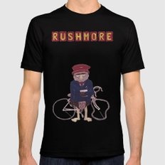 more of a rush Mens Fitted Tee Black SMALL