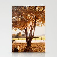 Fall Tree Stationery Cards