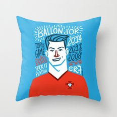 CR7 Throw Pillow