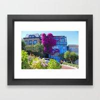Lombard Street Framed Art Print