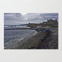 The Wick Of Sandsayre Canvas Print